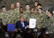 特朗普签署美国2019财年国防授权法案