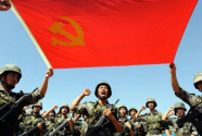 在党的旗帜下奋进强军新时代——以习近平同志为核心的党中央领导和推进人民军队党的建设述评