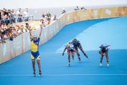 (青奥会)速度轮滑项目结束 哥伦比亚选手包揽金牌