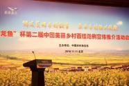 """""""金龙鱼杯""""第二届中国美丽乡村百佳范例宣传推介活动在京启动"""