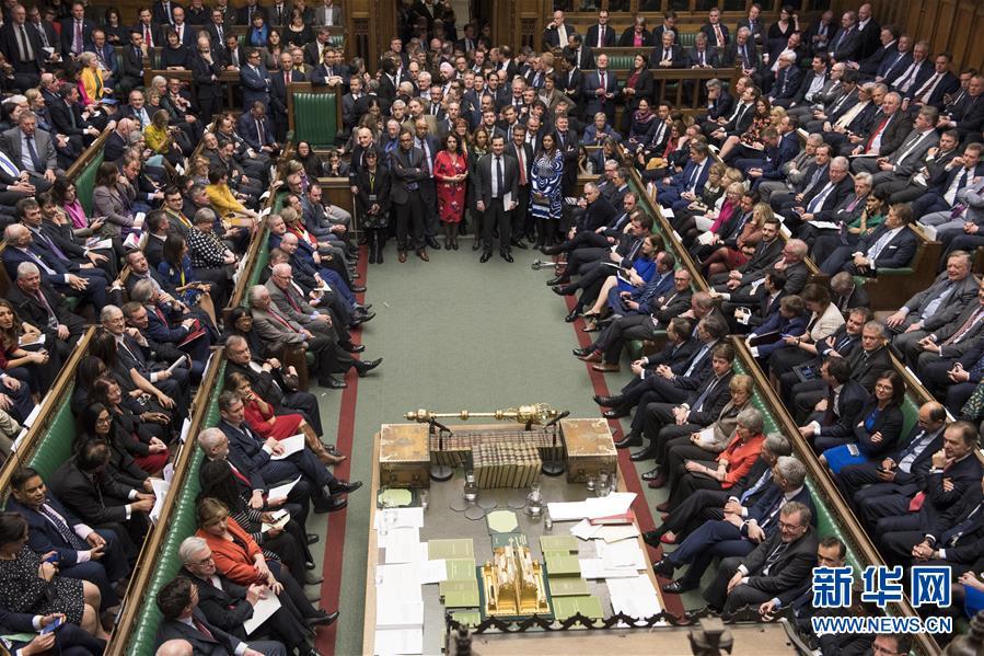 """(国际)(2)英国议会下院再次否决""""脱欧""""协议"""