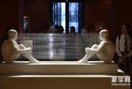 """""""亚洲文明联展(艺术展):大道融通——亚洲艺术作品展""""在中国美术馆开幕"""