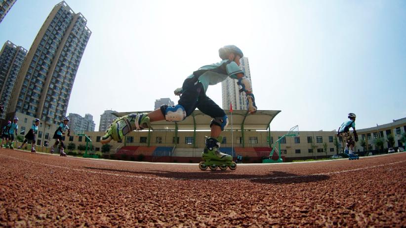輪滑運動進校園