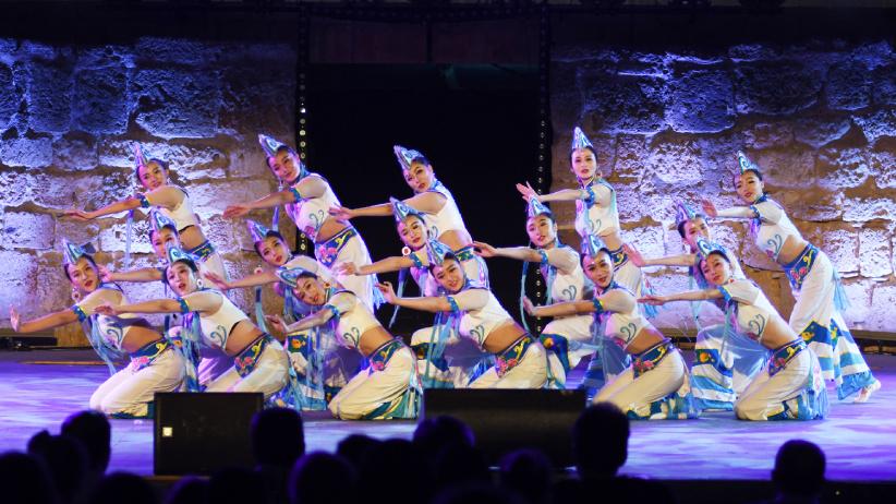 中國藝術團參加突尼斯迦太基國際藝術節