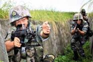 """西部战区陆军某旅连战术演练告别""""自导自演"""""""