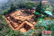 唐華清宮朝元閣遺址考古新發現:整體建筑至少有三層屋檐