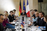 法德领导人在图卢兹出席联合部长级会议