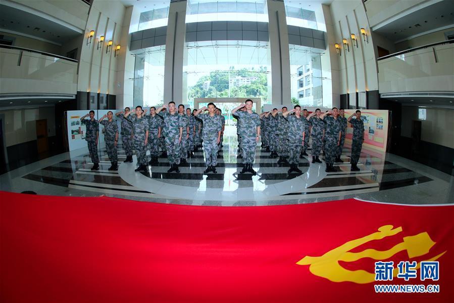 (澳门回归20周年)(7)八一军旗耀濠江——中国人民解放军进驻澳门20周年纪实