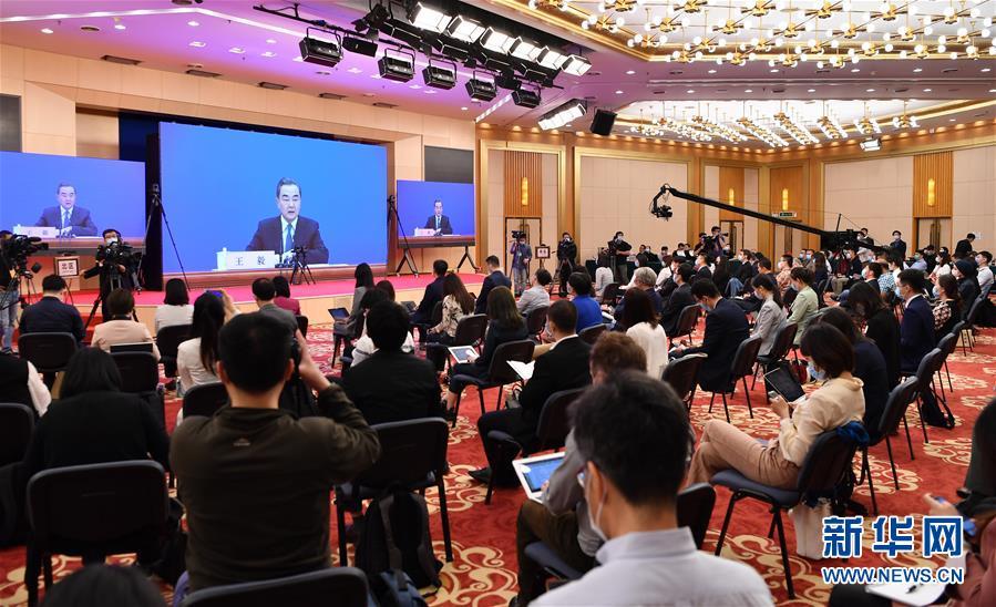 (两会)(4)国务委员兼外交部长王毅就中国外交政策和对外关系回答中外记者提问