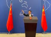 外交部批美政客胁迫他国拒用中国5G设备