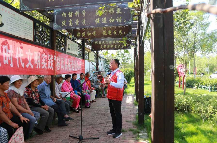 安徽泗县:从群众需求中拓展文明实践