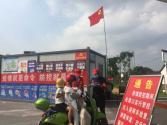 洪蓝街道:党旗飘 力量聚 全力打好疫情防控硬仗